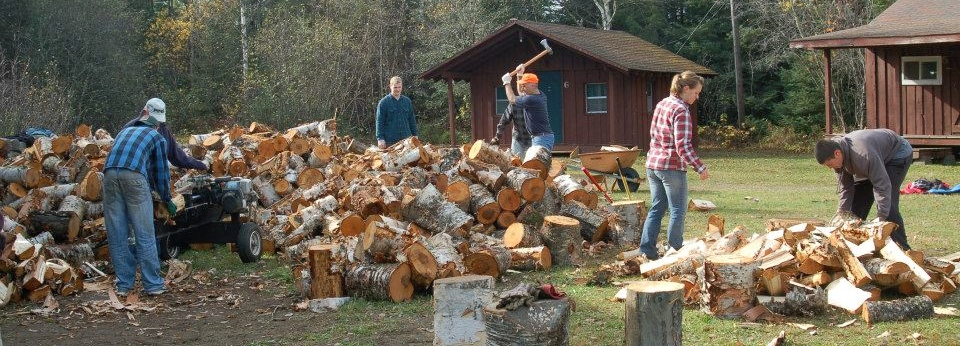 wood chopping party