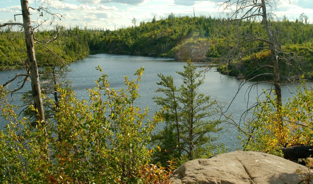 centennial trail on the gunflint