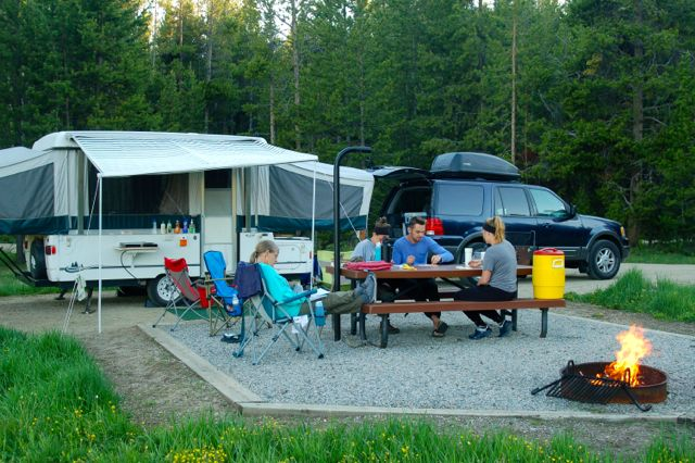 sitting bull campsite bighorns wyoming
