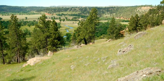 belle fourche river valley