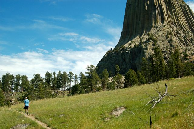 red beds hike devils tower