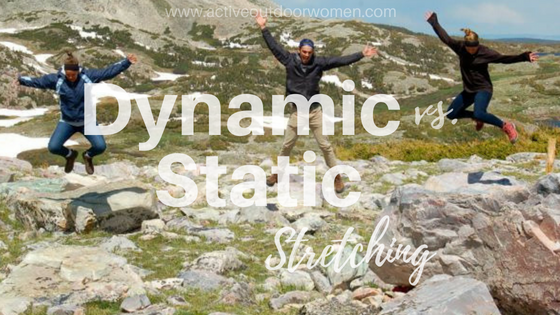 dynamic vs. static stretching header image
