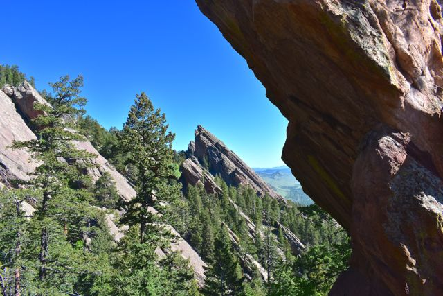 Flatirons on Royal Arch hike
