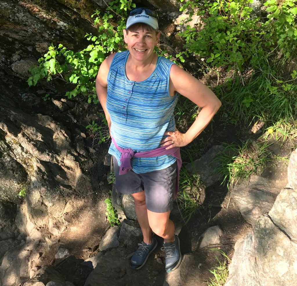 tough hiking with ll bean vista trekking shorts