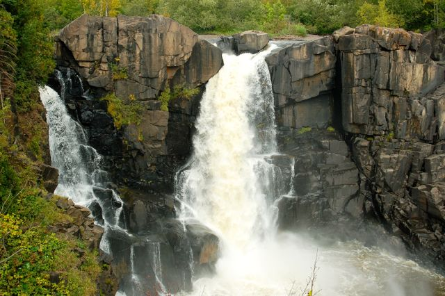 high falls grand portage state park
