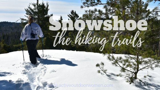 snowshoe the hiking trails