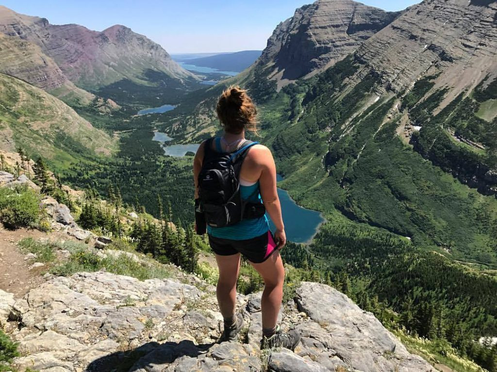 renee scheil hike to swiftcurrent pass glacier national park
