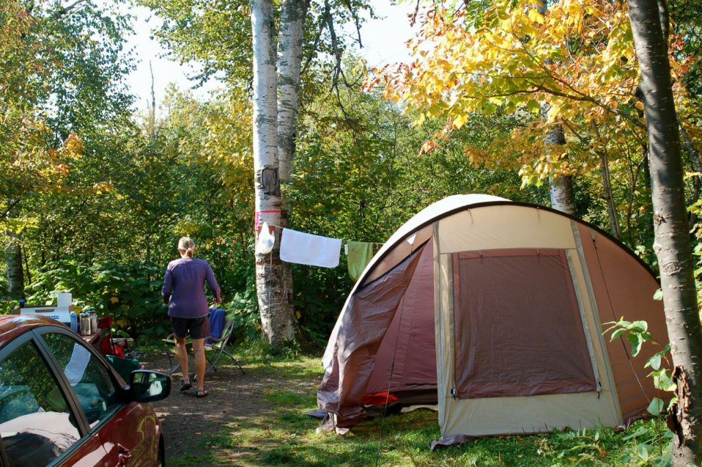 tent camping in minnesota
