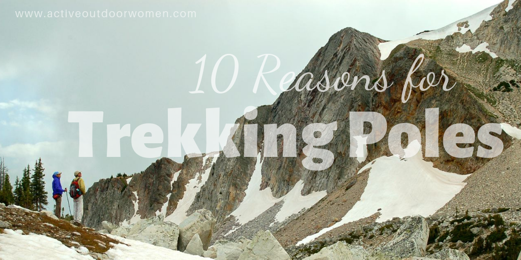 10 top reasons to use trekking poles