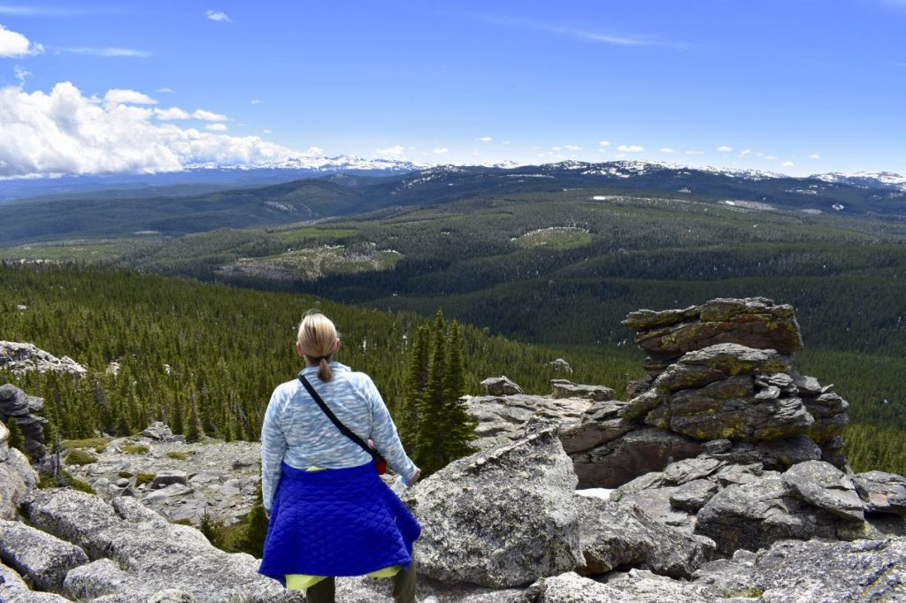 hiking bighorn mountains, black mountain