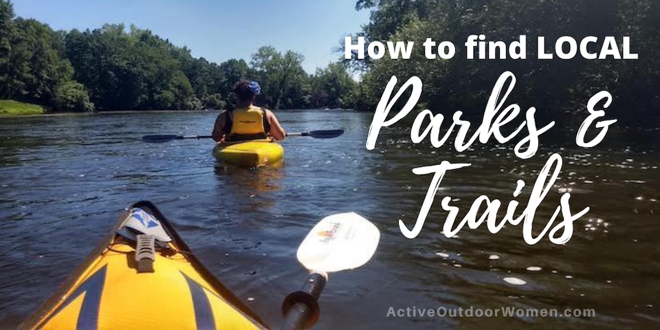 how to find local parks and trails