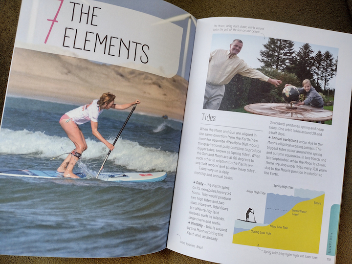 The Paddleboard Bible inside spread